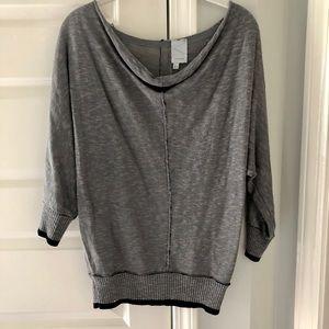 Michael Stars 3/4 sleeve dolman sweater medium